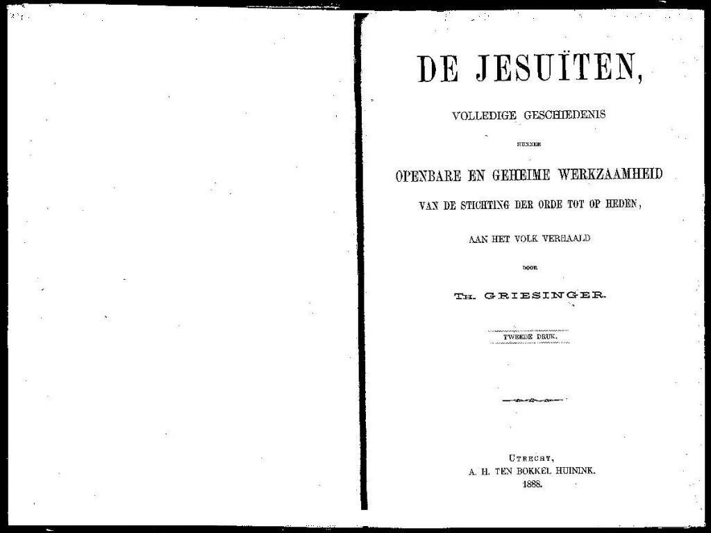 Griesinger, Jesuiten 1888 p1